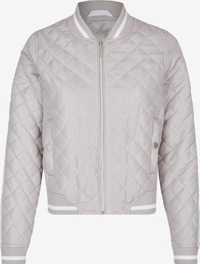 DANIEL HECHTER Steppblouson in grau / weiß, Produktansicht