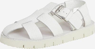 EDITED Sandale 'Patriz' in weiß, Produktansicht