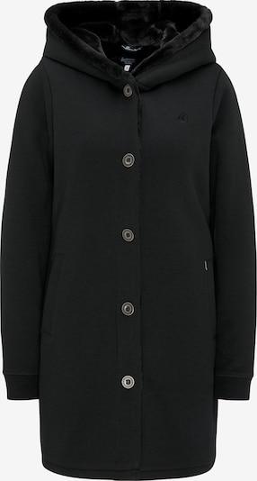 DREIMASTER Sweatmantel 'Vintage' in schwarz, Produktansicht