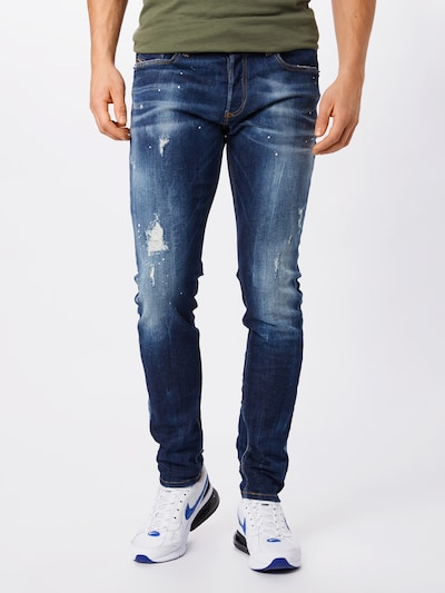 Jeans 'SLEENKER-X' DIESEL pe albastru denim, Vizualizare model