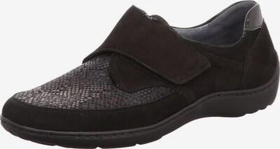 WALDLÄUFER Slipper in graumeliert / schwarz, Produktansicht
