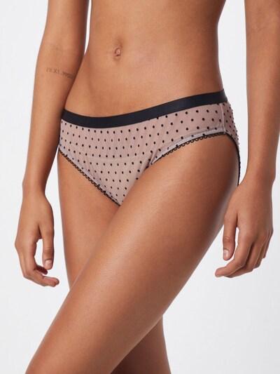 BeckSöndergaard Slip 'New Dot Tallie' in rosa / schwarz: Frontalansicht
