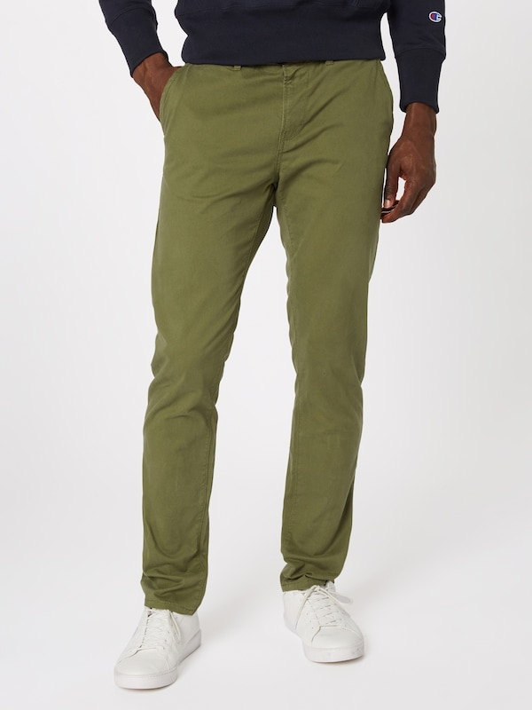 Denim En Vert Foncé Tailor Chino Pantalon Tom XuPkZi
