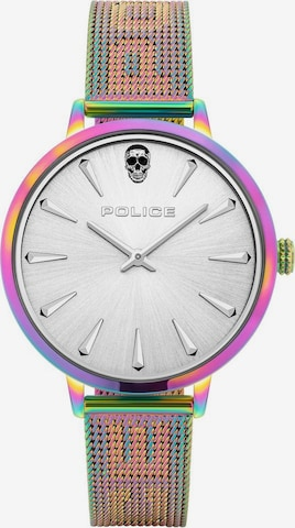 POLICE Analog Watch 'PL16035MSRW.04MM' in Mixed colors