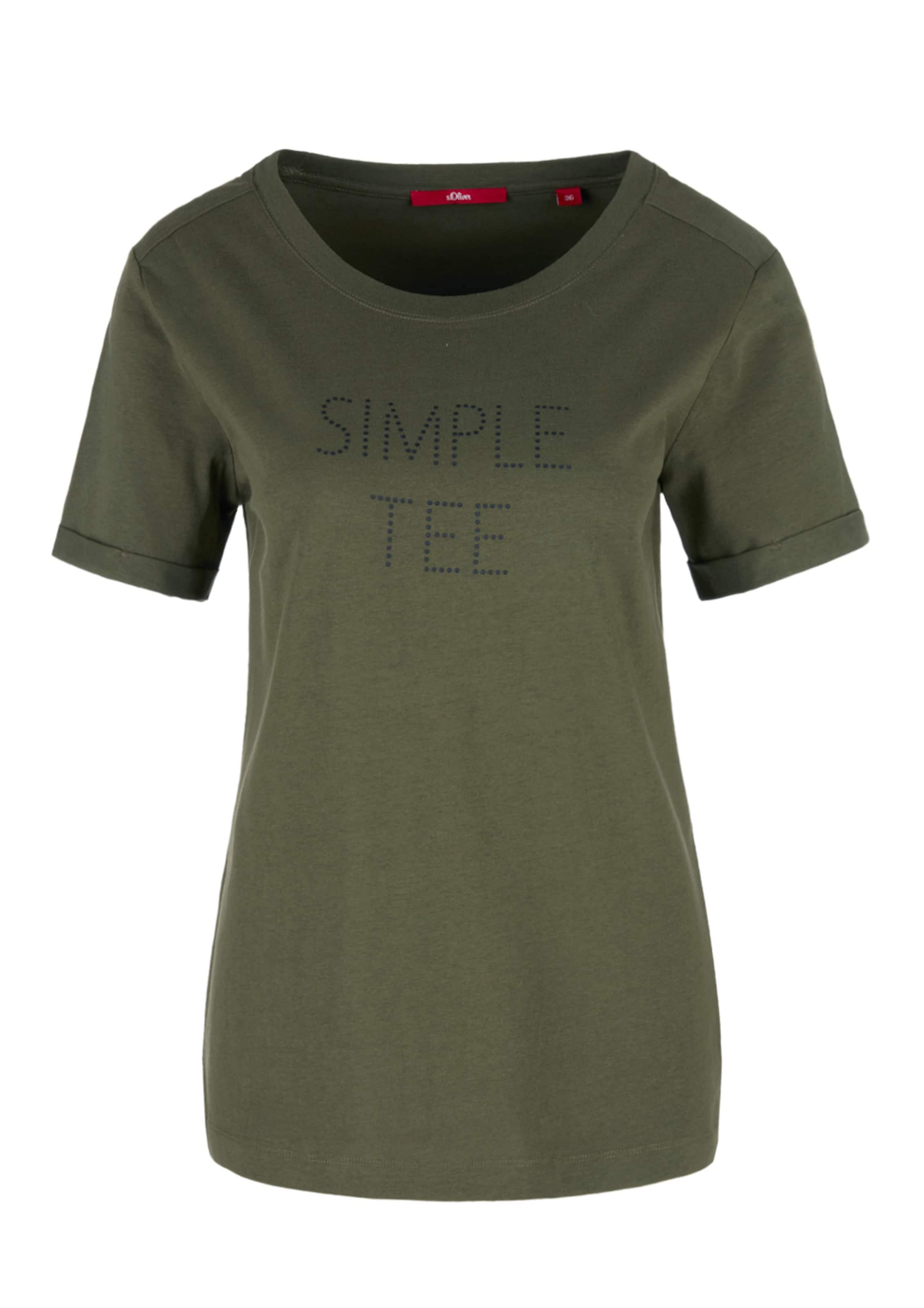 Red oliver Label In Khaki shirt T S rxedBoC