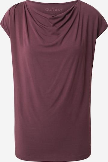 CURARE Yogawear Tehnička sportska majica u bordo, Pregled proizvoda