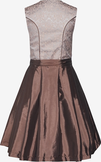 MONDKINI Kleid in braun / rosé: Rückansicht