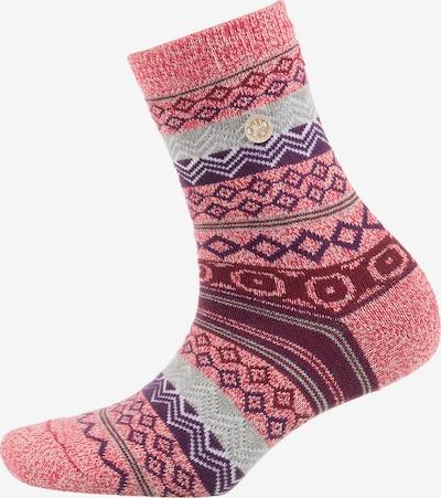 BIRKENSTOCK Socken in mischfarben / pinkmeliert, Produktansicht