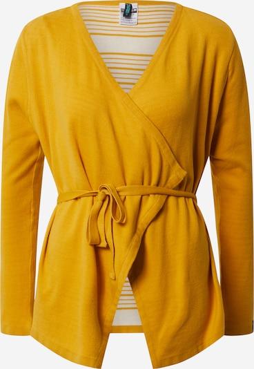 Tranquillo Cardigan 'JELISA' en jaune, Vue avec produit