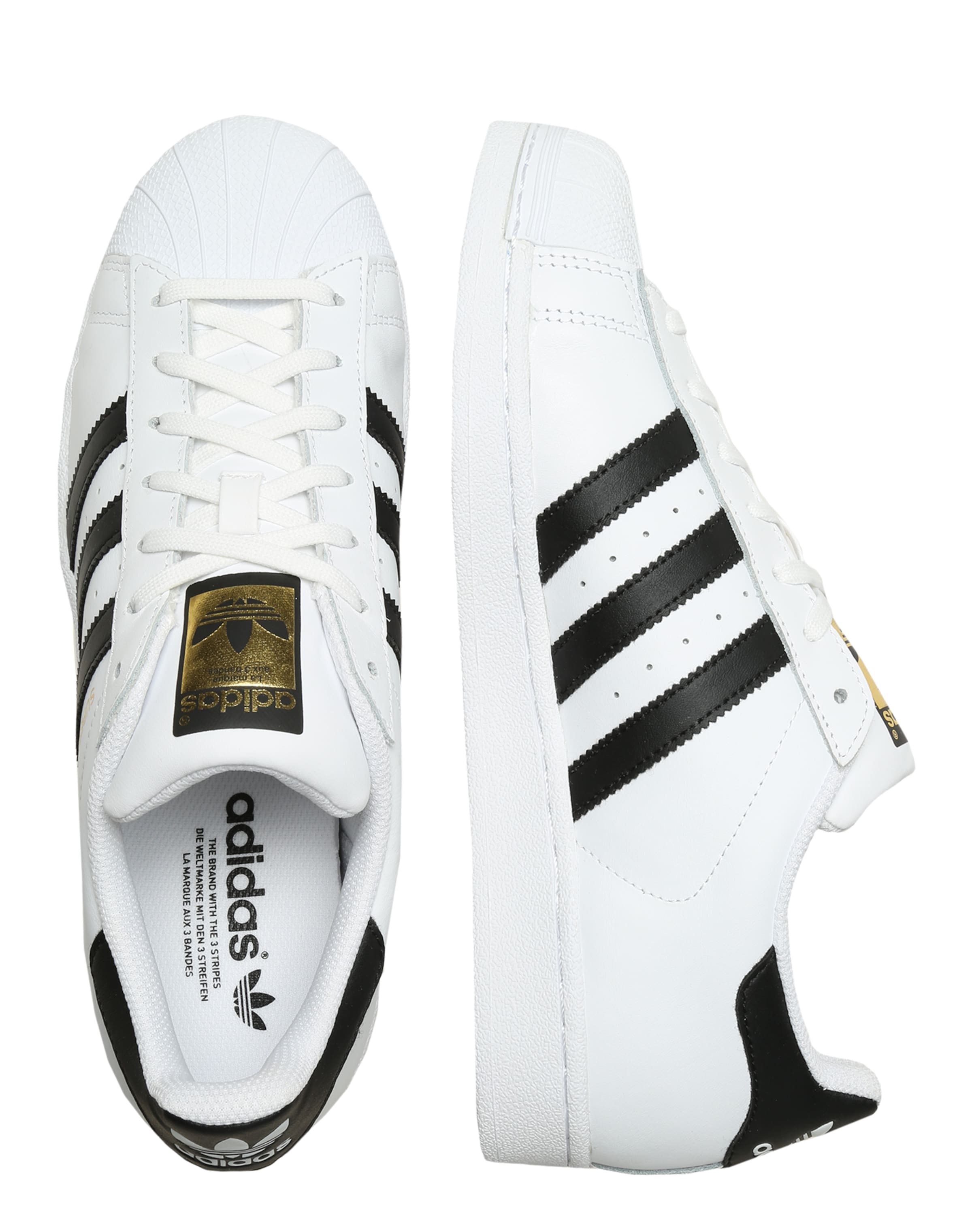 Originals In 'superstar' SchwarzWeiß Adidas Sneaker 5jR3L4Aq