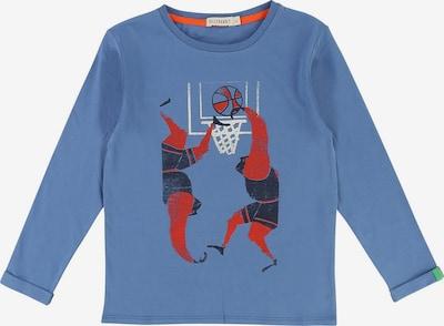 Billybandit Shirt in himmelblau / rot / schwarz, Produktansicht