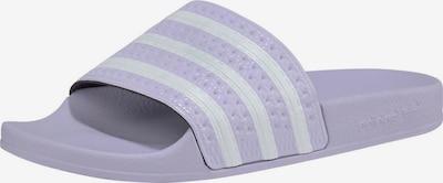 ADIDAS ORIGINALS Pantofle 'Adilette' - šeříková / offwhite, Produkt
