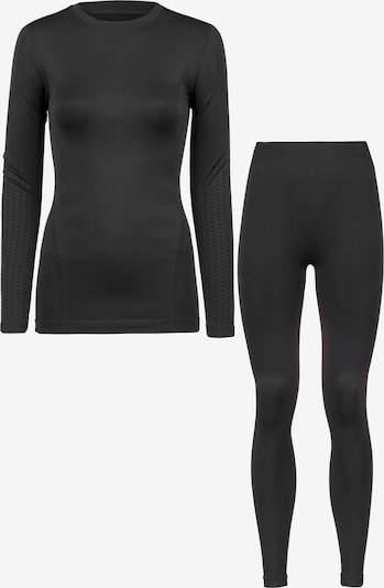 Whistler Base Layer Set in schwarz, Produktansicht