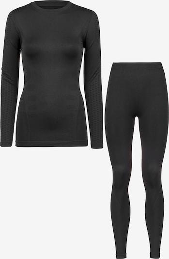 Whistler Langarmshirt und Tights in schwarz, Produktansicht