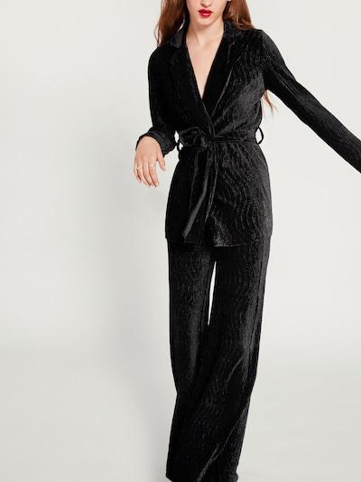 Kelnės 'Lara' iš EDITED , spalva - juoda, Modelio vaizdas