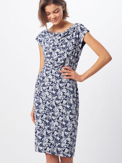 Lauren Ralph Lauren Kleid 'THEONA' in navy / weiß, Modelansicht