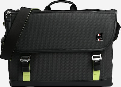 TOMMY HILFIGER Messenger  'COATED CANVAS' in schwarz, Produktansicht