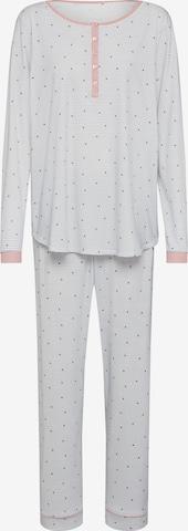 CALIDA Pyjamas i hvit