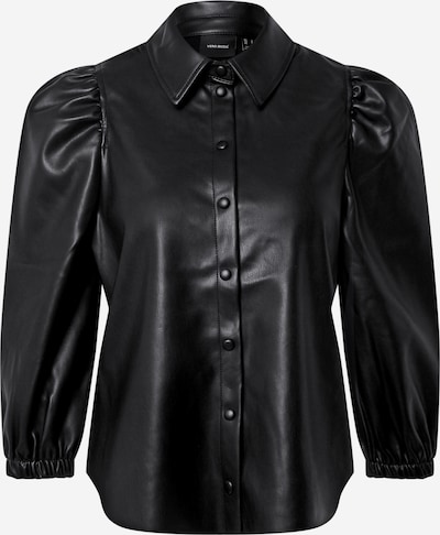 VERO MODA Blouse 'BUTTERLOLA' in de kleur Zwart, Productweergave
