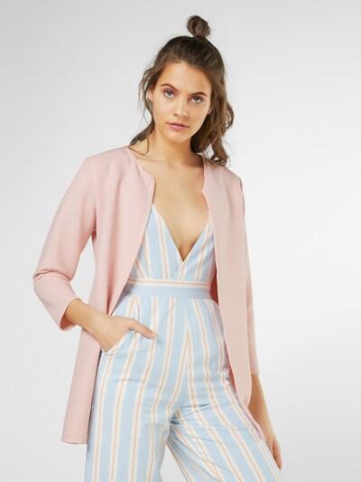 Hailys Blazer en rose, Vue avec modèle