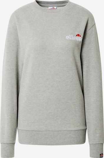 ELLESSE Sweat-shirt 'Triome' en gris, Vue avec produit