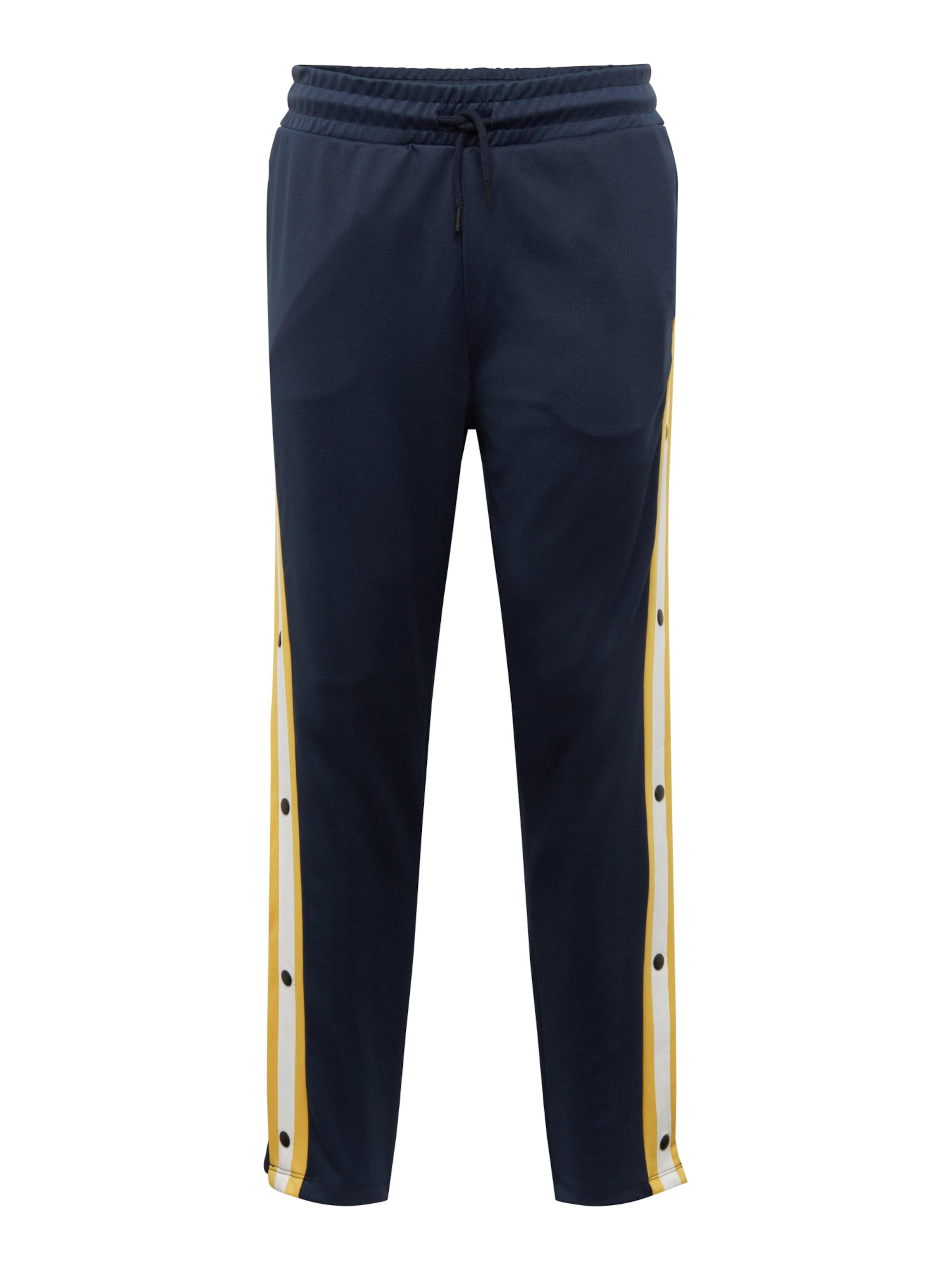 En Blanc Jackamp; Bleu FoncéJaune Jones Pantalon SzMpGqVU