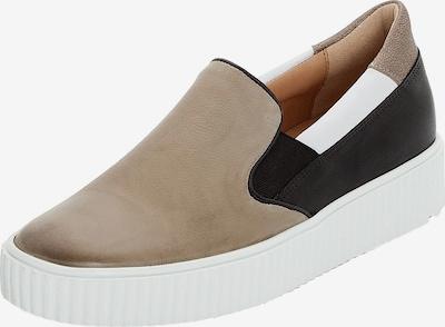 LLOYD Sneaker in hellbraun / schwarz / weiß, Produktansicht
