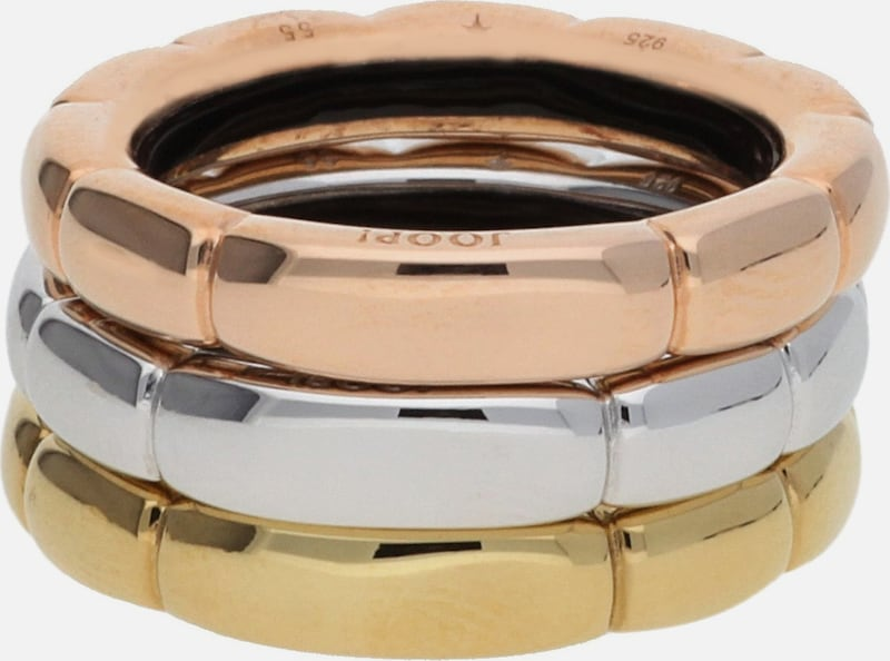 JOOP! Damen Fingerring Silber Gold Lia JPRG90729A