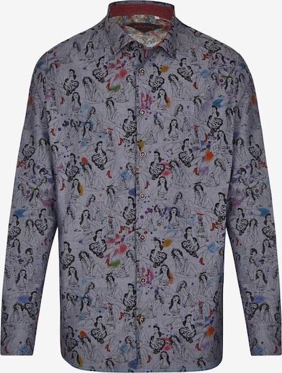 Rich Friday Hemd in dunkelblau / mischfarben, Produktansicht