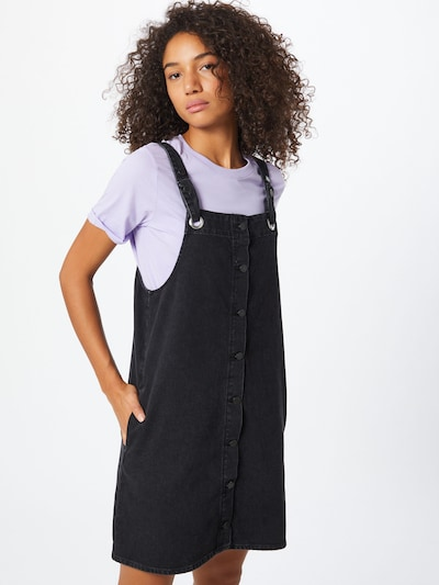 ARMEDANGELS Kleid 'Dainaa' in black denim, Modelansicht