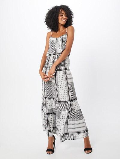 SISTERS POINT Kleid 'ISSA-DR5' in creme / schwarz, Modelansicht