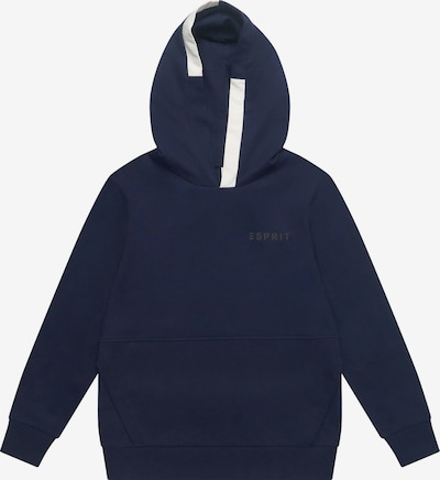 ESPRIT Sweatshirt in nachtblau / weiß: Frontalansicht