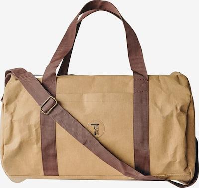 Wash me Bags Henkeltasche aus nachhaltig produziertem Material in beige / braun, Produktansicht
