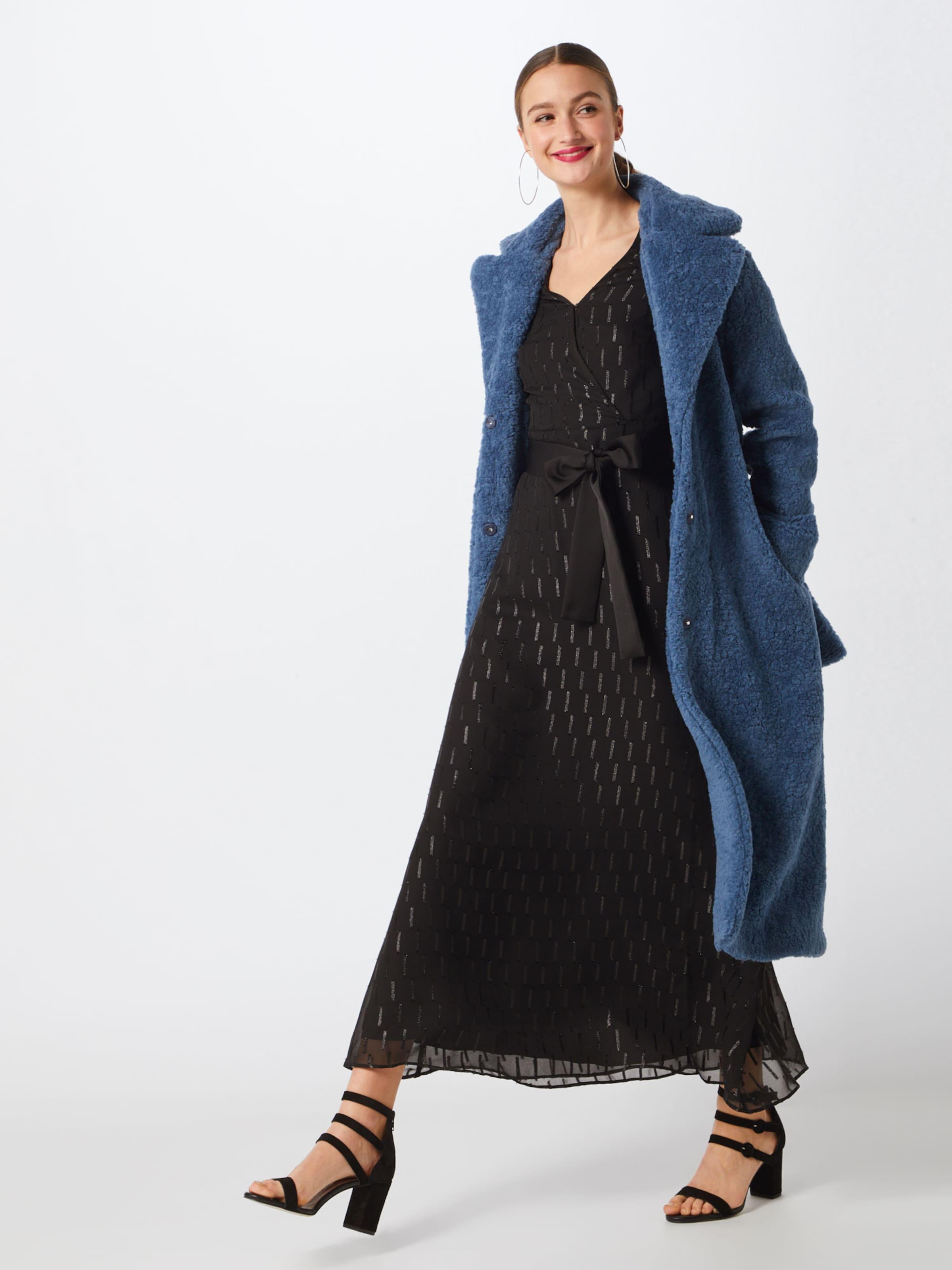Robe Noir Faux 'i Maxi Shimmer Banana Wrap Dress' En Republic qUMVSpz