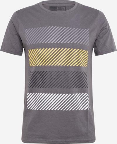 !Solid T-Shirt en gris foncé, Vue avec produit