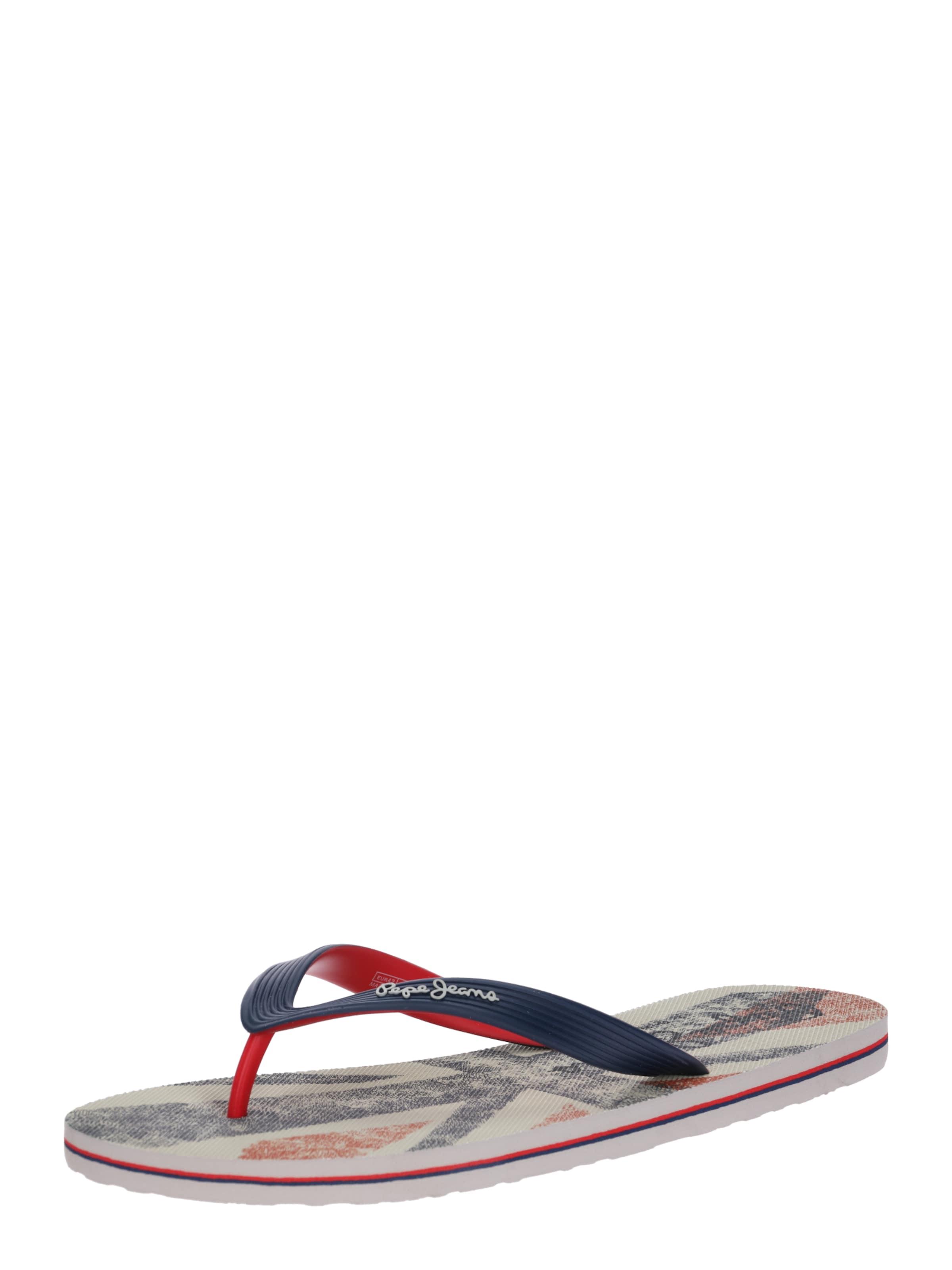 Jeans Pepe 'hawi Ian' CremeNachtblau In Sandale QCrxsohBtd