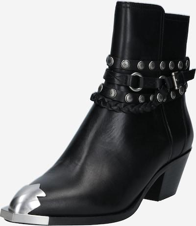 ASH Kaubojske čizme 'Folk A' u crna / srebro, Pregled proizvoda