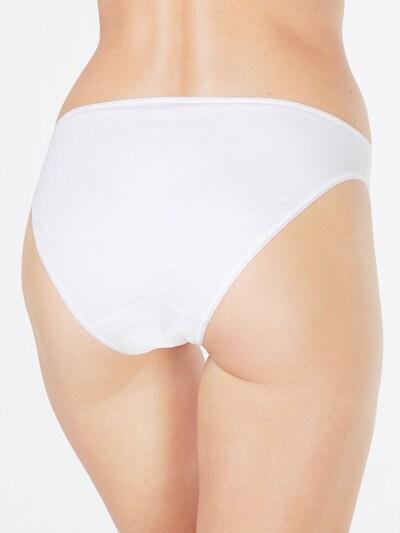 Skiny 'Essentials   Women Rio' Slip in weiß: Rückansicht