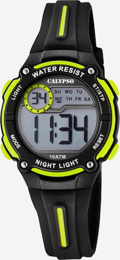 CALYPSO WATCHES Uhr 'Digital Crush' in neongelb / schwarz, Produktansicht