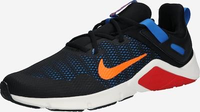 NIKE Sporta apavi 'Legend' pieejami dūmu zils / oranžs / melns, Preces skats