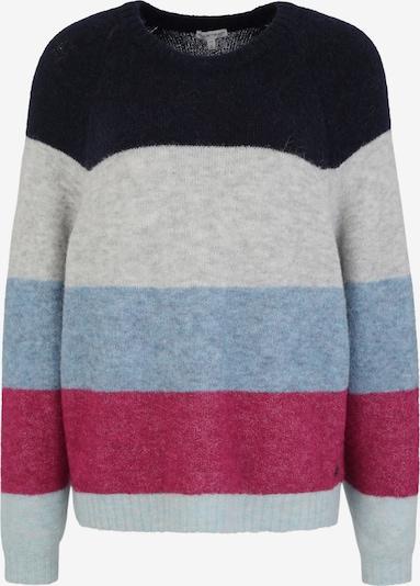 BETTER RICH Pullover 'Crew Multi Stripe' in blau / grau / hellgrau / himbeer / rot / schwarz, Produktansicht