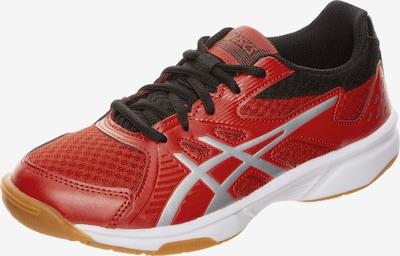 ASICS Handballschuh 'Upcourt 3 GS' in rot / schwarz / silber, Produktansicht
