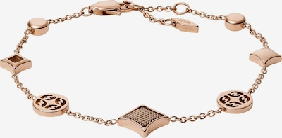 FOSSIL Armband 'Classics' in rosegold, Produktansicht