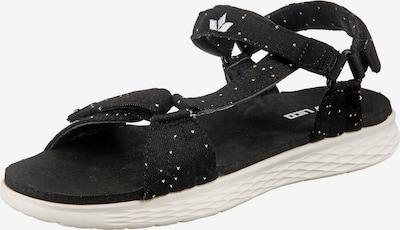 LICO Outdoorsandale 'Saona V' in schwarz, Produktansicht
