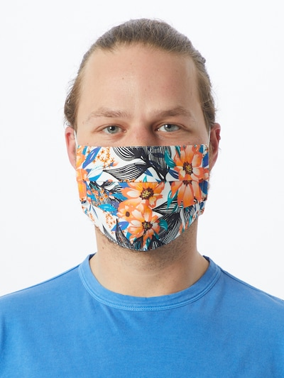 Zwillingsherz Stoffmasken '2er Pack Israel' in mischfarben: Frontalansicht
