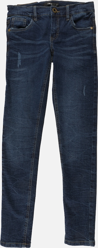 NAME IT Jeans 'NLMPILOU DNMTANDENCE 3089' in blue denim, Produktansicht