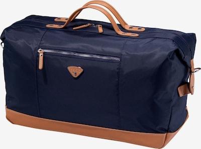 Jump Sac de voyage 'Riviera' en bleu marine / abricot, Vue avec produit