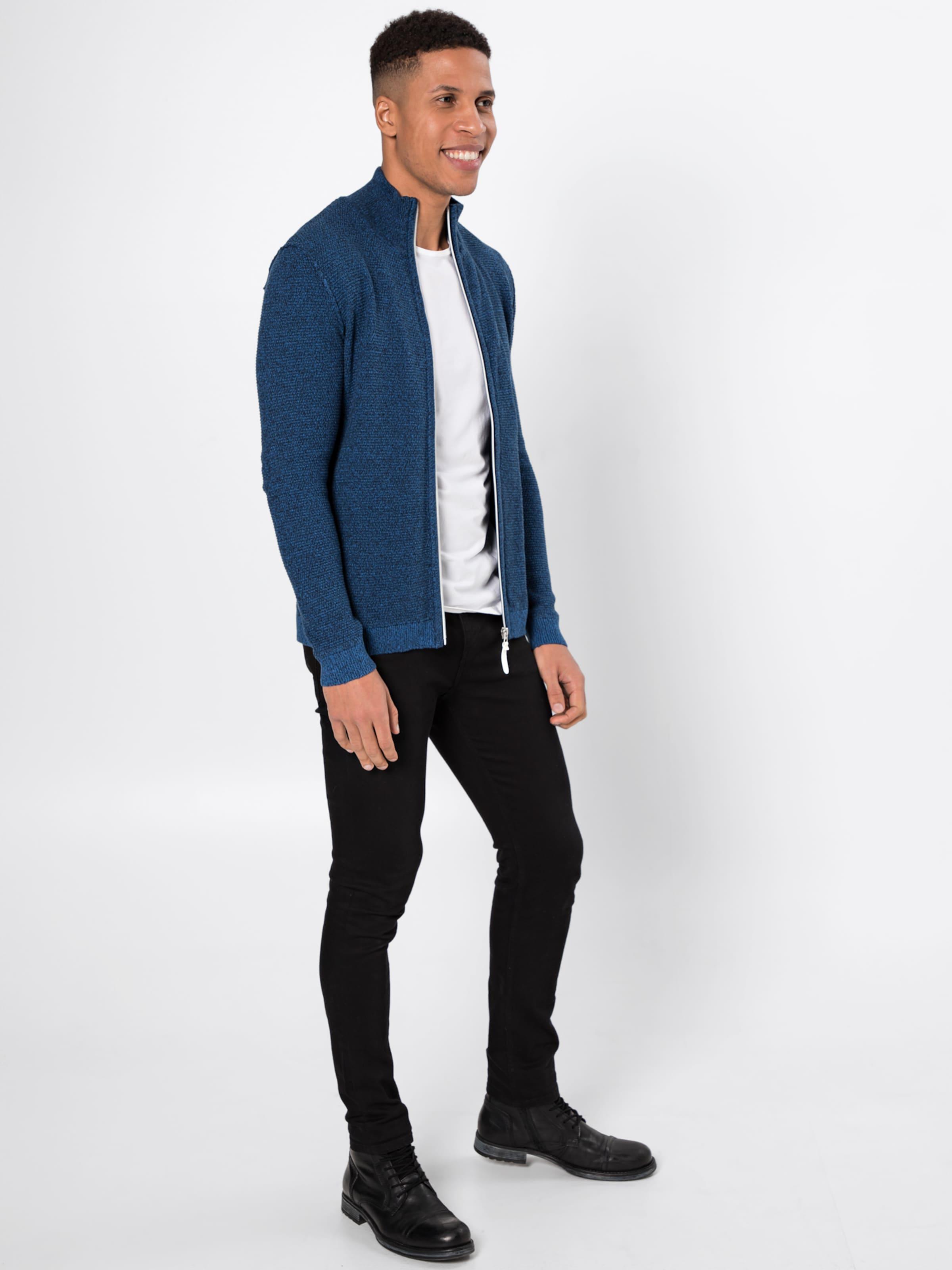 Tom Tailor Veste En Marine Bleu saison Mi 0nkPwO