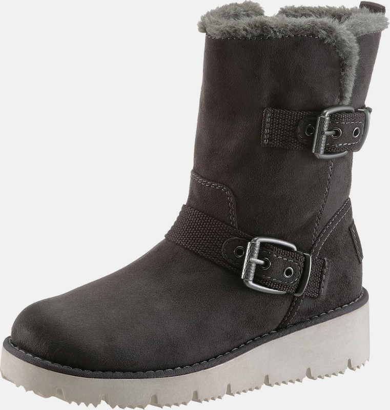 sOliver RED LABEL | Snowboots mit Schnallen