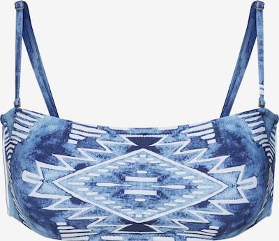 RIP CURL Hauts de bikini 'MOON TIDE' en bleu / blanc, Vue avec produit